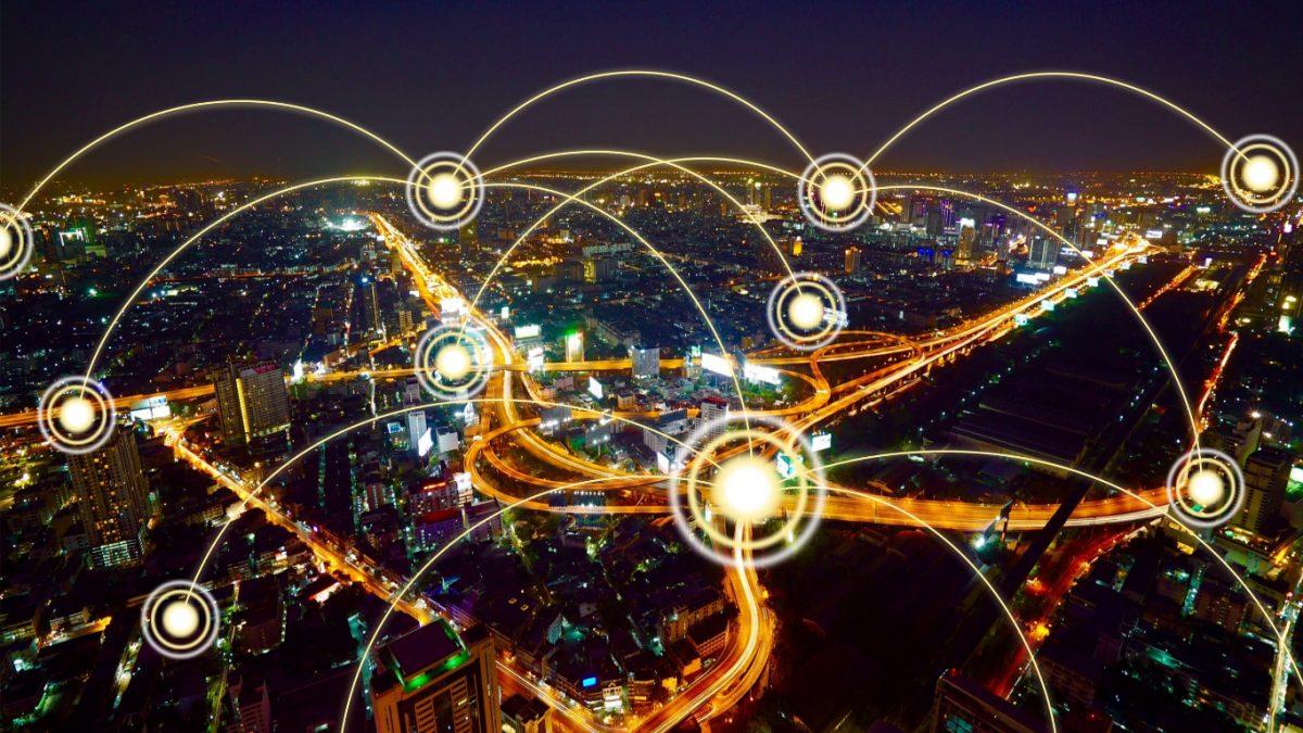 City landscape energy